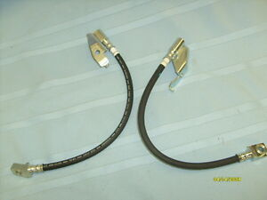 71 72 73 MUSTANG COUGAR DISC BRAKE HOSES Raybestos Quality