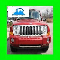 05-11 JEEP COMMANDER CHROME TRIM FOR GRILL GRILLE 06 07 08 09 10 5YR WARRANTY