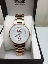 ANNE KLEIN Ladies watch WHITE & Rose Gold RRP £179 NEW  (a54