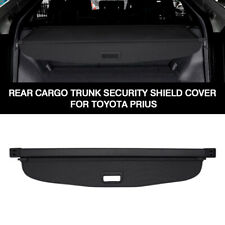 For Toyota Prius 2019 Black Luggage Cargo Cover Shield Security Trunk Shade