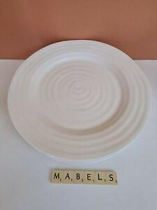 PORTMEIRION  ~SOPHIE CONRAN WHITE~ dinner plates x 4