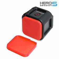 Linsen Schutz für GoPro HERO 5 Session Lens Cap Protector Abdeckung Kappe Red