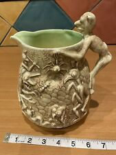 More details for vintage falconware jug amazing macabre ghoulies and ghosties long legged beast
