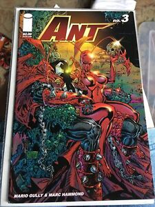 Image Comics ANT #3 Mario Gully (2005 Series) Spawn Cover