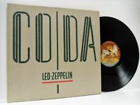 LED ZEPPELIN coda LP EX/EX, 79.0051-1, vinyl, album, with inner, blues rock 1982