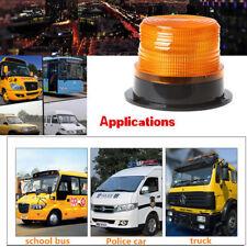 LED Yellow Car Magnetic Warning Flash Light Vehicle Strobe Emergency Lamp Useful