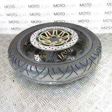 Honda CB 400 98 Superfour front wheel rim with 50% tyre & disc rotors