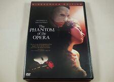 The Phantom of the Opera DVD Gerard Butler, Emmy Rossum, Patrick Wilson
