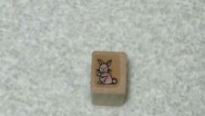 Hero Arts -  Rubber Stamp - Bunny Rabbit - Tiny Size -Cute Stamp