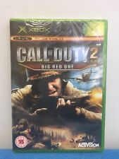 Call Of Duty 2 Big Red One Xbox Game Original Factory Sealed Activision 15+