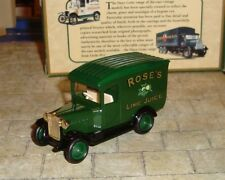 LLEDO -  DAYS GONE - 1934 CHEVROLET DELIVERY VAN - ROSE'S LIME JUICE  - BOXED