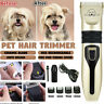 Rechargeable Pet Cat Dog Hair Cut Clipper Trimmer Shaver Electric Grooming Kit