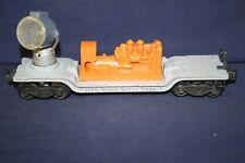 Lionel 3520 Searchlight Car w/Orange Generator VG++