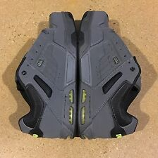 DVS Enduro Heir Size 11 Grey Lime Black Trubuck Militia Havoc BMX DC Skate Shoes