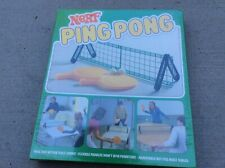 Factory Sealed! Nerf Ping Pong Vintage 1982 Parker Brothers New Old Stock