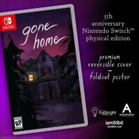 Gone Home Nintendo Switch Iam8bit #1 Limited Run LRG Brand New Sealed