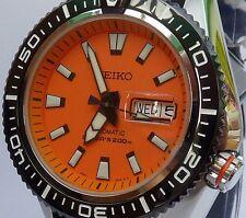 SEIKO Superior totalmente nuevo para hombre automático 200m Divers Watch SRP497K1