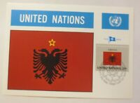 Maximum Card Flags of The Nations Albania 1982 (75216)