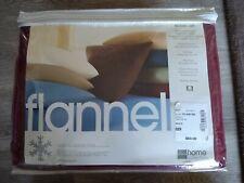 Flannel Sheet Set-Queen-Merlot