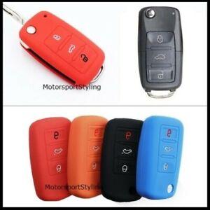 Remote Key Cover For VW Golf Polo Passat Scirocco Tiguan Touran 3 Button Case 57