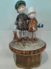 Holly Hobbie Music Box Hearts That Love Are Always Young 1974 Japan