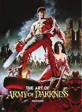 Art of Army of Darkness Hardcover Book J Scott Campbell John Bolton Raimi New NM