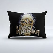 New Iron Maiden Rock Band Heavy Metal Bedding Pillow Case Cover Polyester Fans