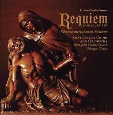 REQUIEM - SAINT CECILIA CHOIR AND ORCHESTRA (WOLFGANG AMADEUS MOZART)  CD NEW+