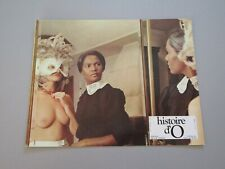 "CORINNE CLERY LAURE MOUTOUSSAMY ""HISTOIRE D'O"" JUST JAECKIN LOBBY CARD LB3"