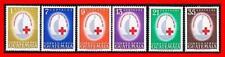 GUATEMALA 1964 RED CROSS 100 ANNIVERSARY SC#C304-09 MNH CV$10.15 MEDICINE
