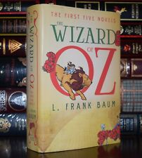 The Wizard of Oz by Frank Baum New Illustrated Hardcover Classics 1-5 Novels