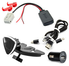 BLUETOOTH AUX ADAPTER für PEUGEOT 207 307 CITROEN C3 C4 Blaupunkt RD4 Radio Set