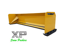 10' Xp30 Snow pusher boxes skid steer Bobcat Case Express Steel - Local Pick Up