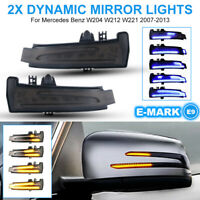 Dynamic LED Side Mirror Indicator Turn Signal For Mercedes W204 W212 W221 LD2351