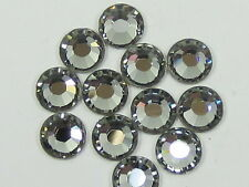 20ss BLACK DIAMOND HOT FIX swarovski rhinestones 72pcs