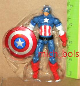 "CAPTAIN AMERICA #004 LOOSE Marvel Universe Series 5 2013 3.75"" Action Figure"