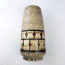 Vase allemand  JASBA 1-138-35 Mid Century Fat Lava Era West German