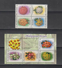 Philippine Stamps 2011 Philippine Hoyas (Flowers) Complete set MNH