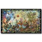 Psychedelic Trippy Art Silk Poster Print 12x21 24x43inch Wall Decor