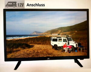 "JTC 21,5"" 55cm LED Full HD Fernseher Camping TV mit 12V DVB-T2,-S2,-C USB EEK A"