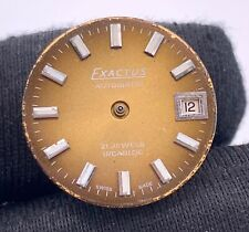Eta 2651 Exactus Automatic Vintage 18,4 MM Doesn'T Works For Parts