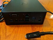DELL K16A TB15 THUNDERBOLT DOCK PORT REPLICATOR J00G9 WITH 130W POWER ADAPTER US