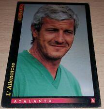 CARD GOLD 1993 ATALANTA LIPPI CALCIO FOOTBALL SOCCER ALBUM