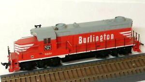 HO Scale Vintage 1960's Mantua Burlington GP30 Powered Diesel Locomotive, Tested