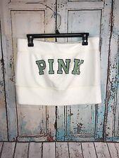 PINK Nation Victoria's Secret Creme Lace Bandeau Bikini Bra Strapless Top Size M
