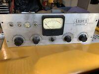 Vintage Ampex Tube Reel To Reel Pre Amplifier Tube Amp READ LISTING
