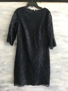 NWOT! TED BAKER 'Laavia' Lace Shift Cocktail Dress, Size 1 (US 4) - Nola Ink