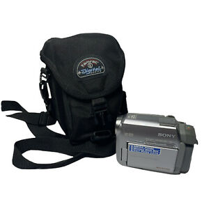Sony Handycam DCR-HC40 Mini DV Camcorder VCR Player Video Transfer TESTED Works