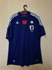 7bd92f7b709 JAPAN NATIONAL TEAM 2010 2011 HOME FOOTBALL SHIRT JERSEY CAMISETA MAGLIA  ADIDAS