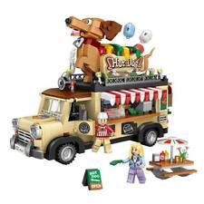 Dachshund Hot Dog Truck - BLOCK CENTER 3D puzzle nano blocks set